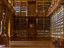 The Strahov Library in Prague.