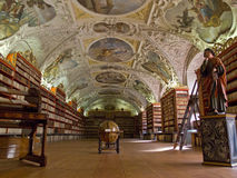 The Strahov Library in Prague. Royalty Free Stock Photos