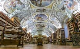 Strahov Library, Prague Stock Image