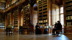 Strahov Library in Prague Royalty Free Stock Photography