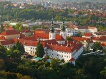 Strahov Monastery 01 stock photography