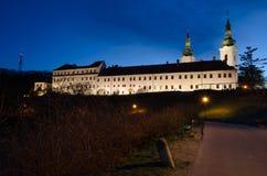 Strahov monastery Royalty Free Stock Photography