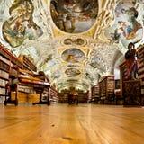 Strahov Monastery library interior, space Royalty Free Stock Image