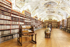 Strahov monastery in Prague, Royalty Free Stock Photo