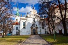Strahov Monastery Stock Photo