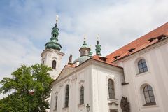 Strahov monastery in Prague in the Czech Republic Stock Images