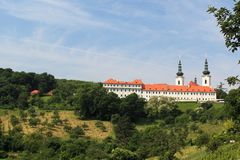 Strahov monastery Stock Photography