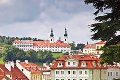 Strahovklooster, Praag, Stock Afbeeldingen