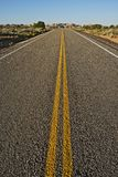 Straight Arizona Highway Royalty Free Stock Photography