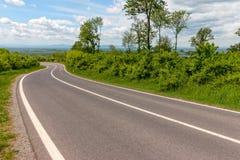 Straight asphalt road Royalty Free Stock Image