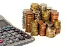 Straight Calculation Stock Image
