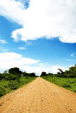 Straight Dirt Road Royalty Free Stock Image