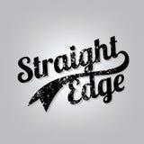 Straight Edge Stock Photo