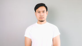 Straight face. Royalty Free Stock Images