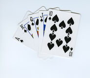 Straight Flush Royalty Free Stock Photo