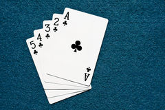 Straight flush Royalty Free Stock Photos