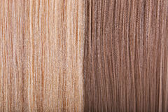 Straight Hair Background. Dark and Light Hair Stock Image