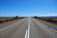 Straight highway Royalty Free Stock Photography
