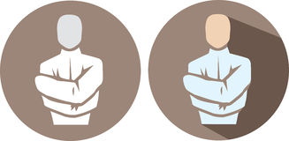 Straight Jacket Icon Royalty Free Stock Image