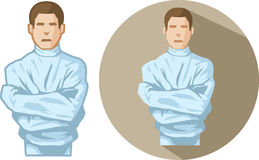 Straight Jacket Illustration Royalty Free Stock Images