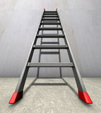 Straight ladder Royalty Free Stock Image