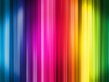 Straight line background. A background picture using the spectrum of light in straight lines Royalty Free Stock Images