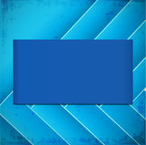 Straight lines abstract vector background. Abstract blue vector background with inclined lines and place for your text Stock Photo