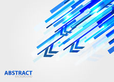 Straight lines abstract vector background Royalty Free Stock Images