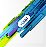 Straight lines background Stock Images