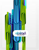 Straight lines background. Straight blue and green lines vector abstract background Royalty Free Stock Photography
