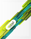 Straight lines background. Straight blue and green lines vector abstract background Stock Images