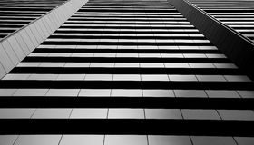 Straight lines building Royalty Free Stock Photos