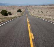 Straight, Long, Empty Road Stock Photos