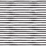 Straight, parallel lines. Grunge linear backdrop. Vector seamless pattern, variable width stripes. Straight, parallel lines. Grunge linear backdrop. Vector Royalty Free Stock Photography