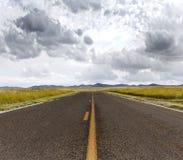 Straight path ahead Royalty Free Stock Image