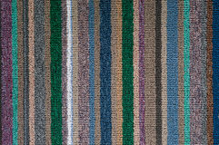 Straight pattern of carpet texture Royalty Free Stock Photography