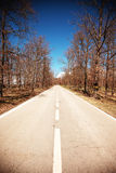 Straight Road Stock Photos