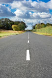Straight road. With no traffic on it Stock Photography