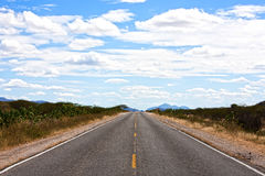 Straight road of ceara Royalty Free Stock Photos