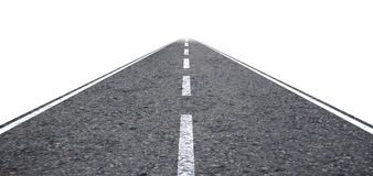 Long Straight Road Illustration Royalty Free Stock Image