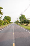 Straight road. Stock Images
