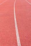 Straight Running Track Stock Photos