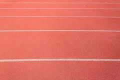 Straight Running Track Royalty Free Stock Photo
