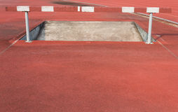 Straight Running Track Royalty Free Stock Images