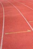 Straight Running Track Royalty Free Stock Photo