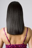 Straight Shiny Black Hair Royalty Free Stock Image