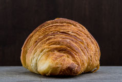 Straight on Show of Croissant Pastry Stock Photography