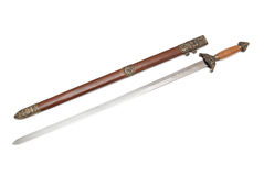Straight sword Jian Royalty Free Stock Images