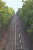 straight track train Στοκ Εικόνες