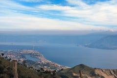 Straights di Messina fotografie stock libere da diritti
